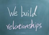 We bauen auf Beziehungen